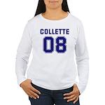 Collette 08 Women's Long Sleeve T-Shirt