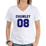 Chumley 08 Women's V-Neck T-Shirt