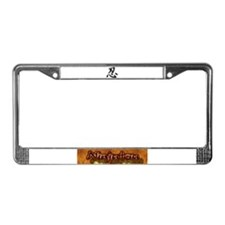 Cute Essence License Plate Frame