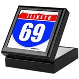 i-69 Keepsake Box