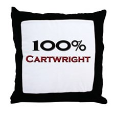 100 Percent Cartwright Throw Pillow