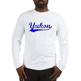 Vintage Yukon (Blue) Long Sleeve T-Shirt