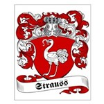 Strauss Family Crest Small Poster