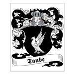 Taube Family Crest Small Poster