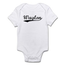 Vintage Waylon (Black) Infant Bodysuit