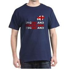Ingerland Football chant T-Shirt