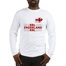 Ingerland Football chant Long Sleeve T-Shirt