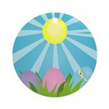 Easter Morning Ornament (Round)