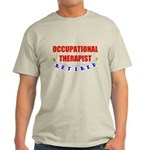 Retired Occupational Therapist Light T-Shirt