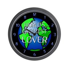 World's Greatest Lover Wall Clock