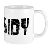 Kassidy Faded (Black) Coffee Mug