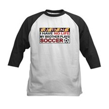 No Life Soccer Brother Tee