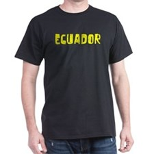 Ecuador Faded (Gold) T-Shirt