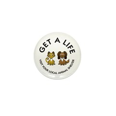 Get a Life Mini Button (100 pack)