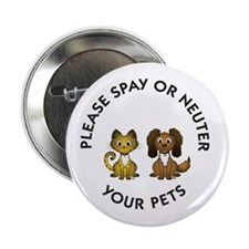 "Spay or Neuter 2.25"" Button (10 pack)"