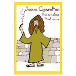 Jesus Cigaretttes Large Poster