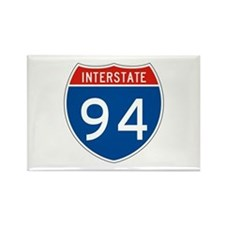 Interstate 94, USA Rectangle Magnet