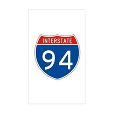 Interstate 94, USA Rectangle Decal