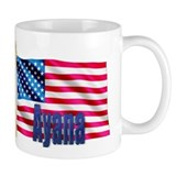 Ayana Personalized USA Flag Mug