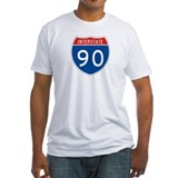 Interstate 90, USA Shirt