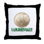 Who is John Galt? Throw Pillow