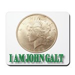 Who is John Galt? Mousepad
