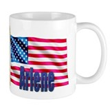 Arlene Personalized USA Flag Mug