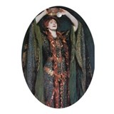 Ellen Terry As Lady MacBeth Oval Ornament