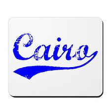 Vintage Cairo (Blue) Mousepad
