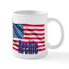 Archie Personalized USA Flag Mug