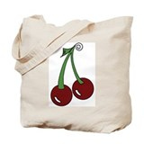 Sweet Cherries Tote Bag
