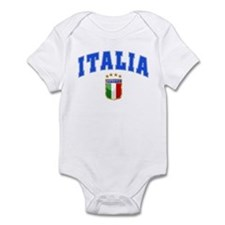 Italia 4 Star European Soccer 2012 Infant Bodysuit