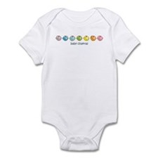 Baby Chakras Rainbow Horz Infant Bodysuit