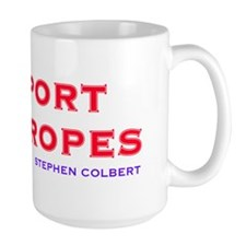 Support Our Tropes Ceramic Mugs