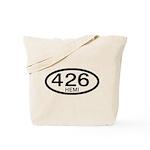 Mopar Vintage Muscle Car 426 Hemi Tote Bag