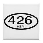 Mopar Vintage Muscle Car 426 Hemi Tile Coaster