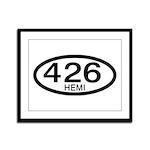 Mopar Vintage Muscle Car 426 Hemi Framed Panel Pri
