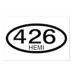 Mopar Vintage Muscle Car 426 Hemi Postcards (Packa