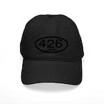 Mopar Vintage Muscle Car 426 Hemi Black Cap
