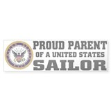 Proud Parent of a U.S. Sailor Bumper Sticker