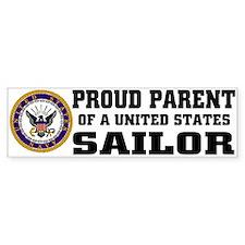 Proud Parent of a U.S. Sailor Bumper Bumper Sticker