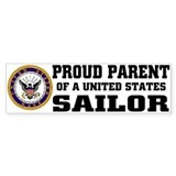 Proud Parent of a U.S. Sailor Bumper Décalcomanies auto