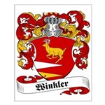 Winkler Family Crest Small Poster