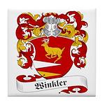 Winkler Family Crest Tile Coaster