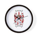 McCracken Family Crest Wall Clock