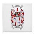 McCracken Family Crest Tile Coaster