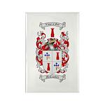 McCracken Family Crest Rectangle Magnet (10 pack)