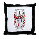 McCracken Family Crest Throw Pillow