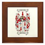 McCracken Family Crest Framed Tile