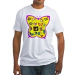 Butterflies Fitted T-Shirt